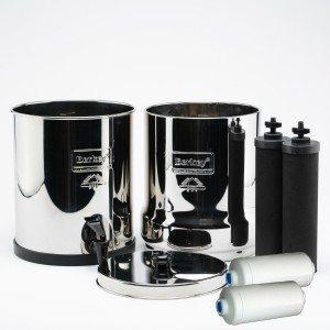 berkey water filter with flouride filiters