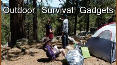 top 5 outdoor survival gadgets