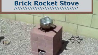 diy how to build a 16 brick rocket stove