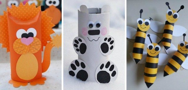 Diy Animal Craft Ideas With Toilet Paper Rolls Total Survival