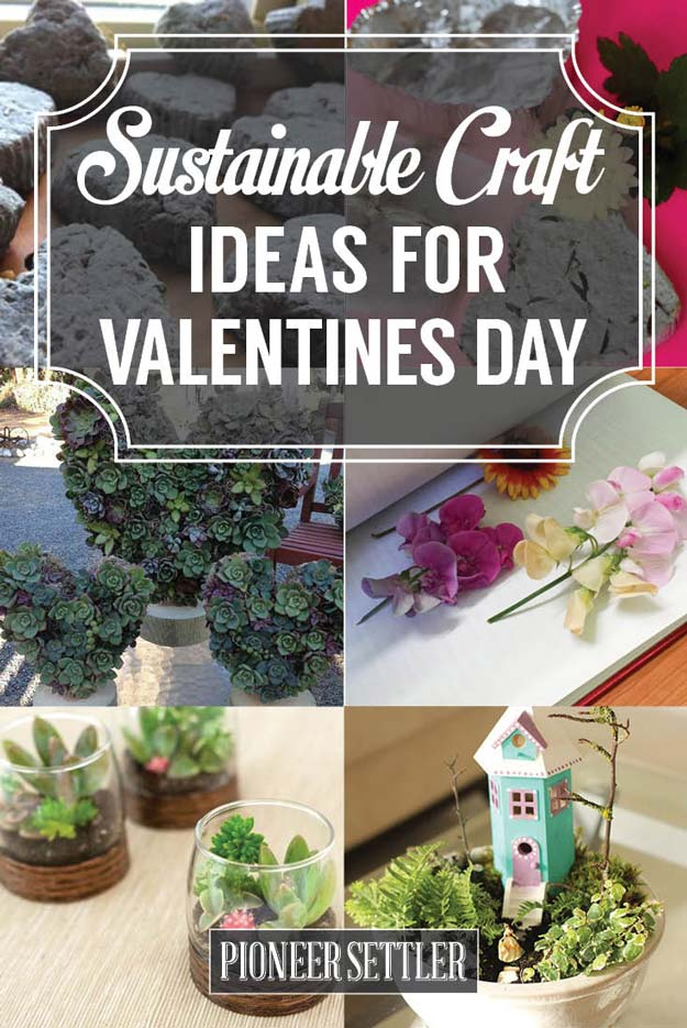 craft ideas for lovers s day ideas sustainable crafts for your 3866