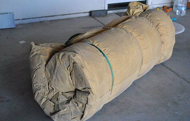 Make A Cowboy Bedroll For Comfort While Camping