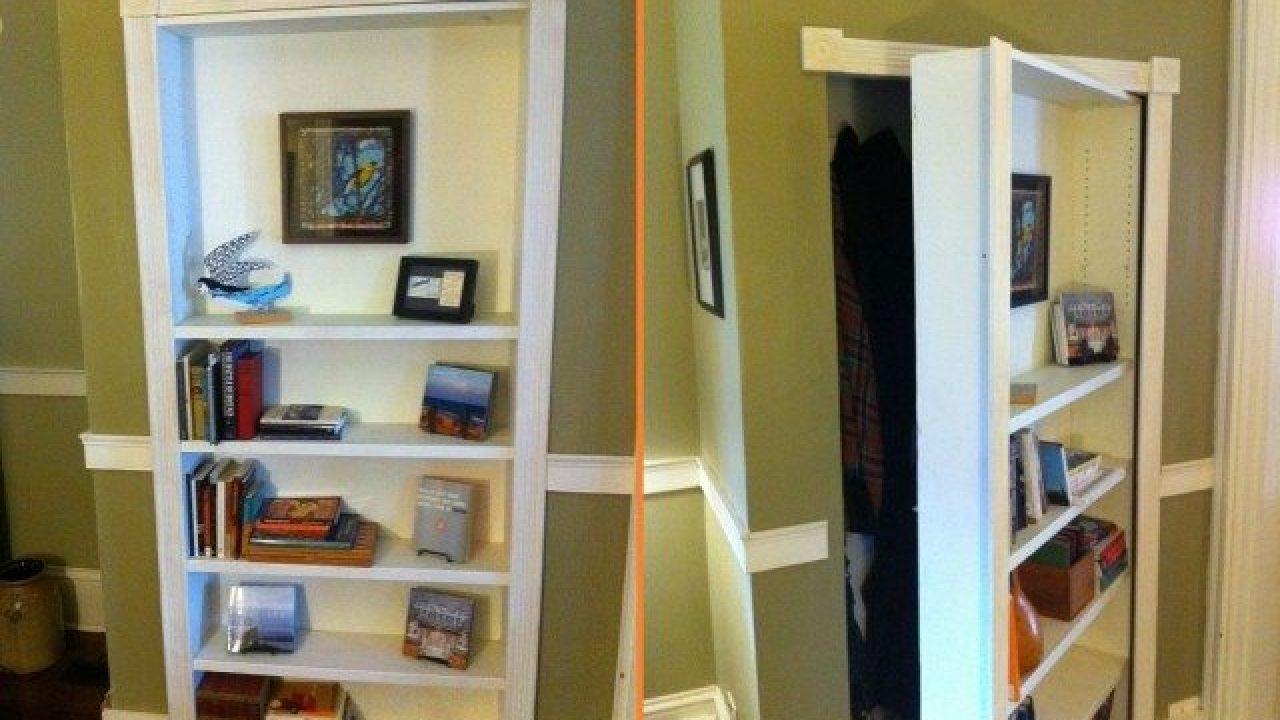 Diy Bookcase Secret Door Total Survival