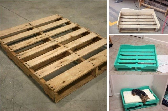 Diy Pallet Dog Bed Total Survival