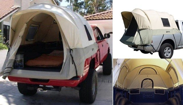 Truck Bed Tent For Camping - Total Survival