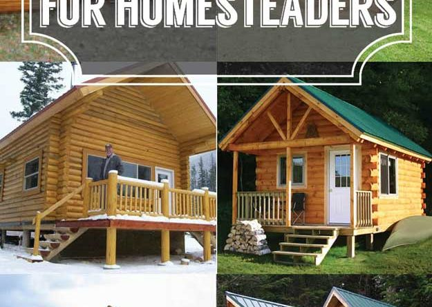 Log cabin kits ideas for your new homestead total survival for Self sufficient cabin kits