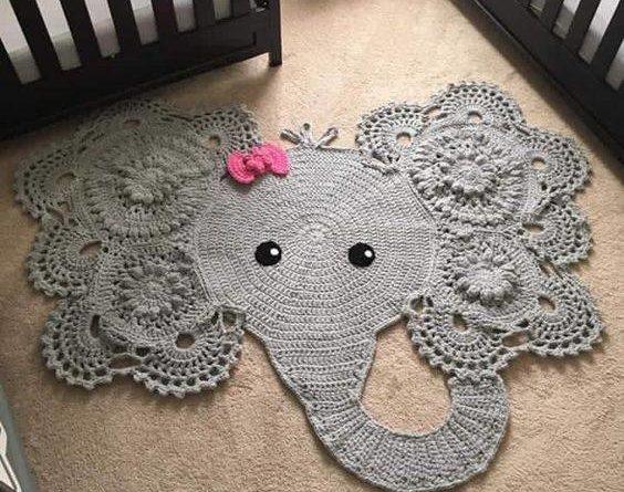 Crochet Elephant Rug Total Survival