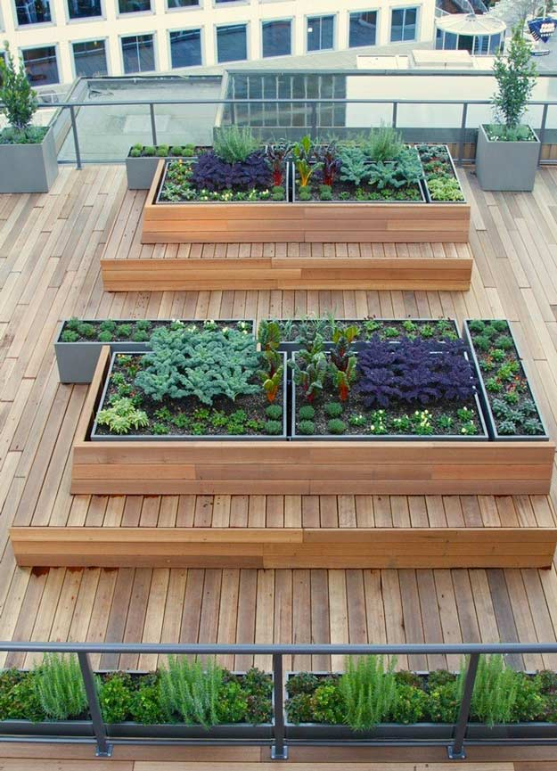 Roof garden transformation ideas total survival - Enchanting rooftop garden ideas ...