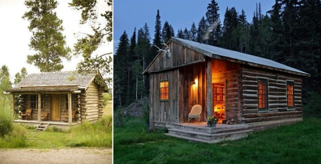 Tiny House Floor Plans Small Cabins Tiny Houses Small: Beautiful Small Cabins In The Middle Of Nowhere