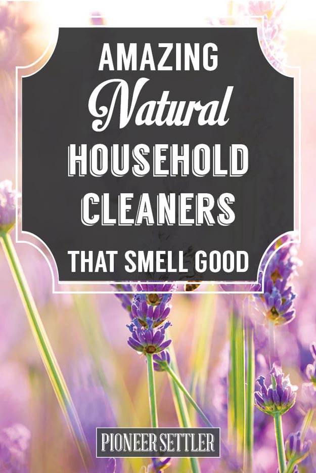 Diy Natural Household Cleaners That Also Smell Amazing