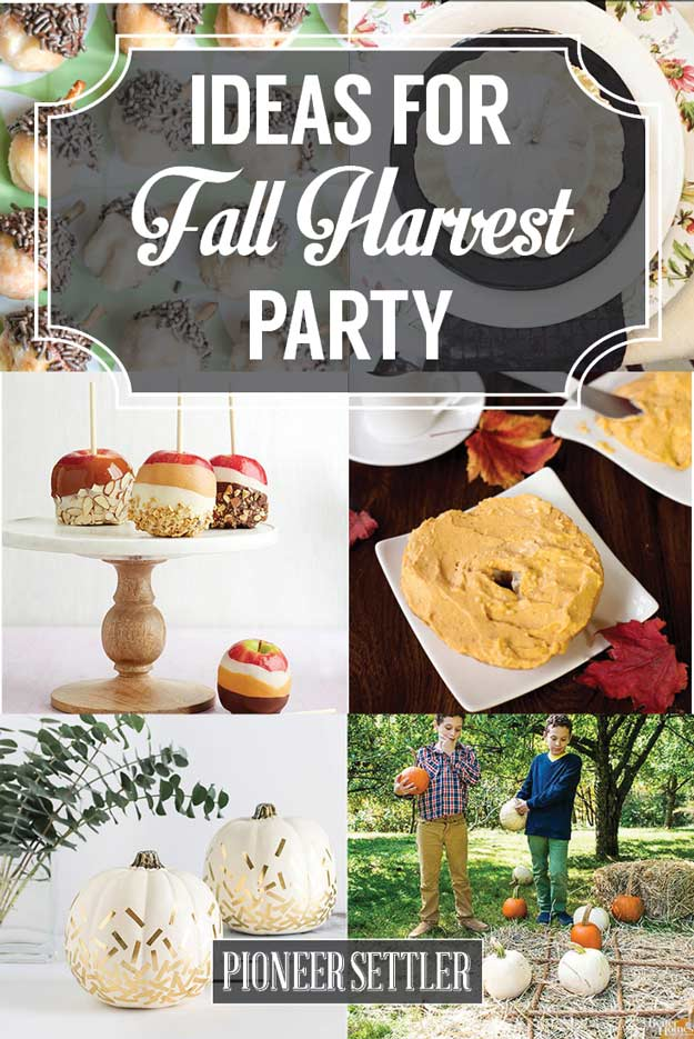 How To Throw The Best Fall Harvest Festival On Your
