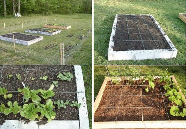 How to build your own square foot garden in 10 easy steps for Casa floor