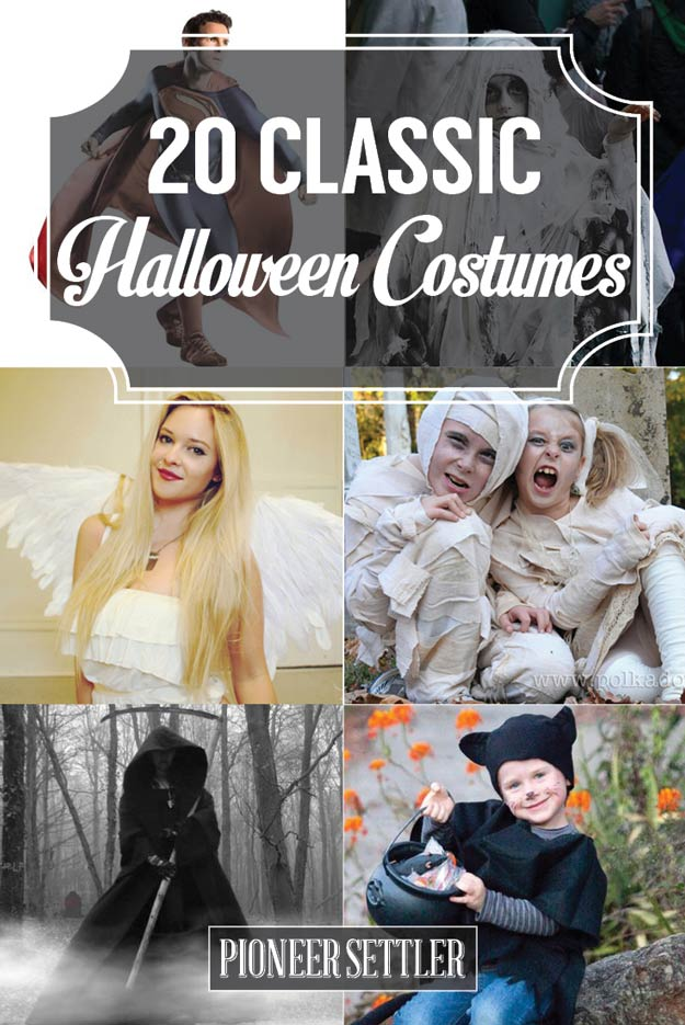 Classic Halloween Costumes For Timeless Trick or Treating - Total ...