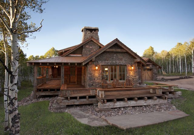 gorgeous log home with wrap around porch - total survival