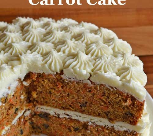 Old Fashioned Carrot Cake Recipe Butter