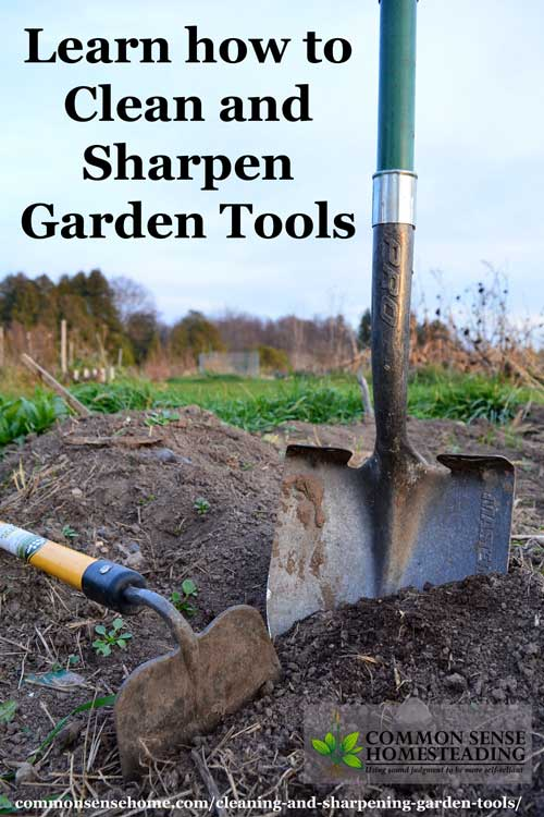 Cleaning And Sharpening Garden Tools Total Survival