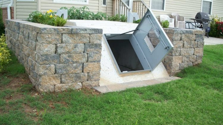 How to build your own underground bunker for survival for Underground safes for sale
