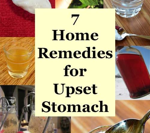 What To Take For Upset Stomach Home Remedy