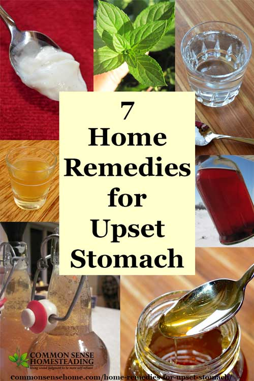 7 Home Remedies For Upset Stomach To Soothe Indigestion