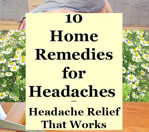 Home Remedies For A Headache Yahoo