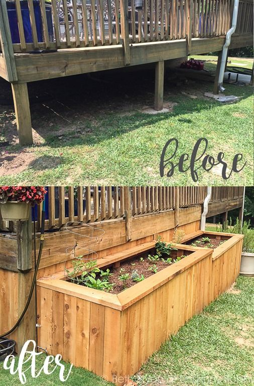 DIY Backyard Makeover With Raised Garden Beds