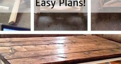 How To Build A Rustic X Coffee Table