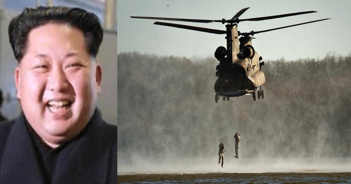 kim jung un vs navy seals