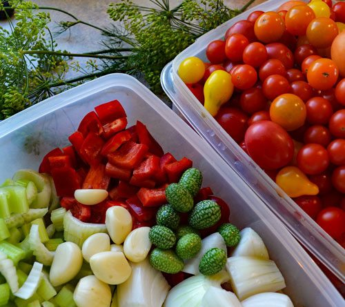 The National Center for Home Food Preservation is your source for methods of home food preservation