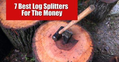 7 best log splitters for the money