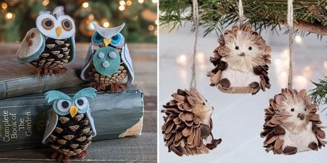 10 Holiday Pine Cone Crafts Total Survival