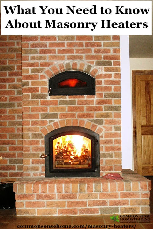 What You Need to Know About Masonry Heaters for Radiant ...