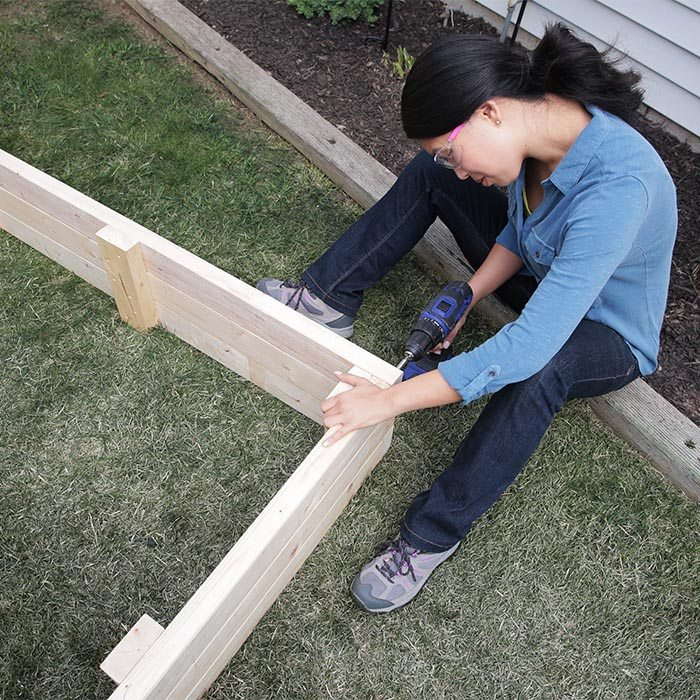 How To Build A Raised Garden Bed An Easy Guide!