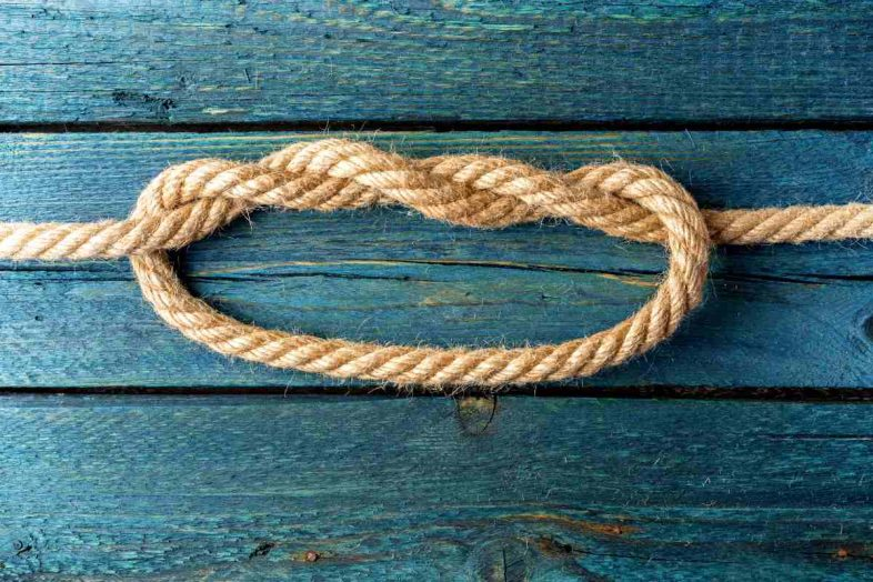 Double-overhand-knot-rope-node-essential-knots-ss