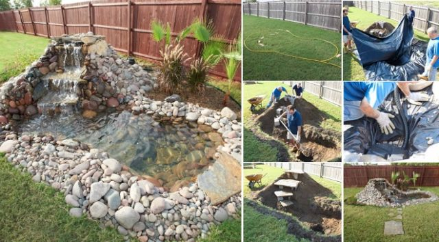 How To Build a Backyard Pond - Total Survival