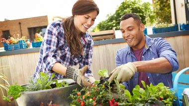 mixed-race-couple-planting-rooftop-garden-Family-Preparedness-ss