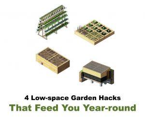 4 garden hacks